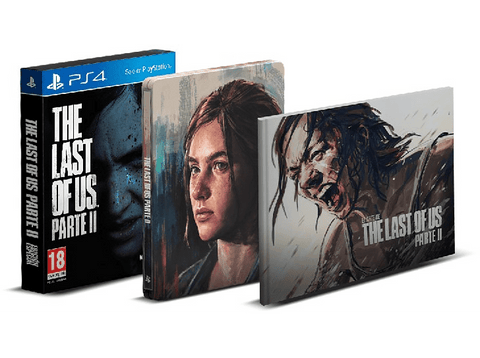 PS4 The Last Of Us Parte II (Ed. Especial - Ellie)
