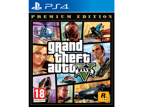 PS4 Grand Theft Auto V (GTA V) (Premium Edition)