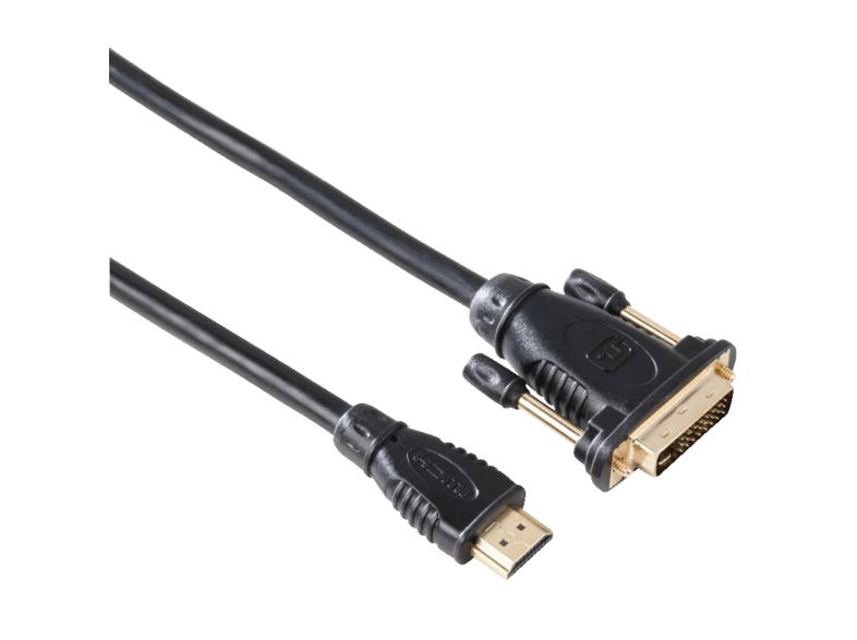 Cable HDMI - Hama 00034033 HDMI - DVI/D Connection Cable, 2m, Negro