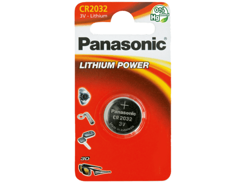 Bateria - Panasonic CR2032L/1BP, Litio, 3V