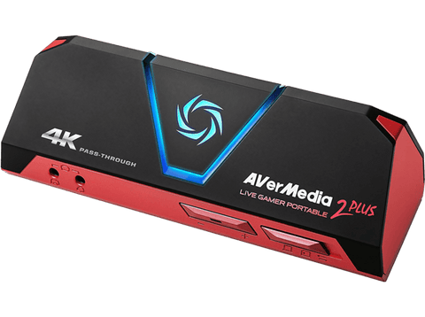Capturadora de video - AverMedia Live Gamer Portable 2 Plus, HDMI, 4k, Portátil