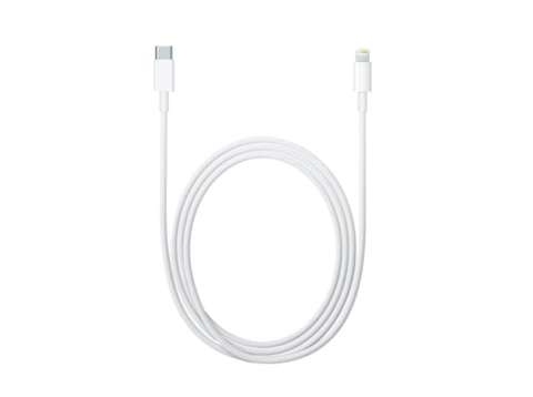 Cable conector - Apple Lightning a USB-C de 1 metro, Blanco