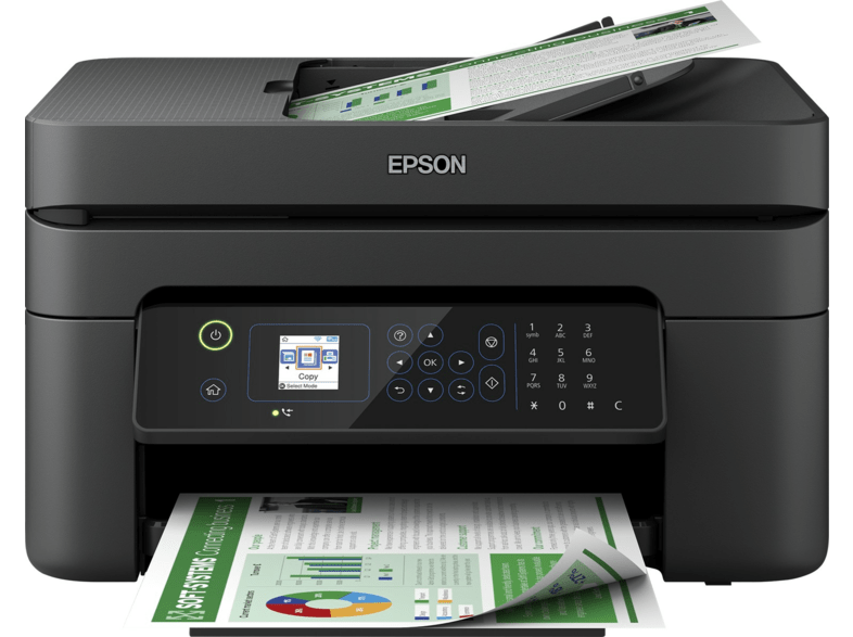 Impresora multifunción - Epson WorkForce WF-2835DWF, Wi-Fi, 10ppm, Negro