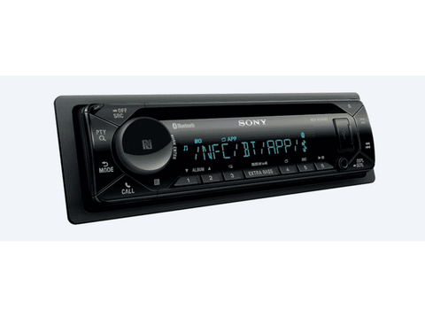 Autorradio - Sony MEX-N5300BT, 4 x 55 W, Dual Bluetooth, NFC, CD, USB, AUX, Negro