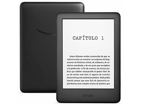eReader - Amazon Kindle Black, Para eBook, 6