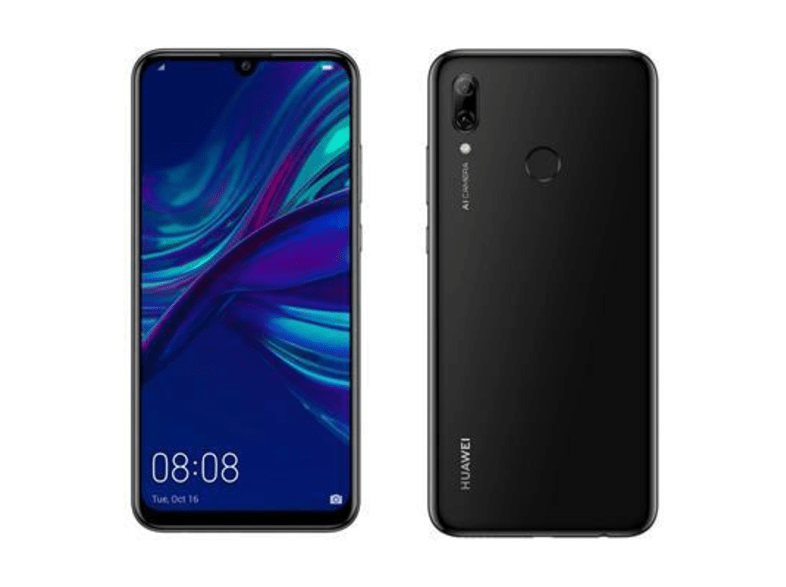 Móvil - Huawei P Smart (2019), Negro, 64 GB, 3 GB RAM, 6.21 Full HD+, Kirin 710, 3400 mAh, Android