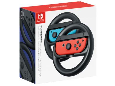 Volante - Nintendo Switch 2511166, Joy con Wheel, 2 unidades, Negro