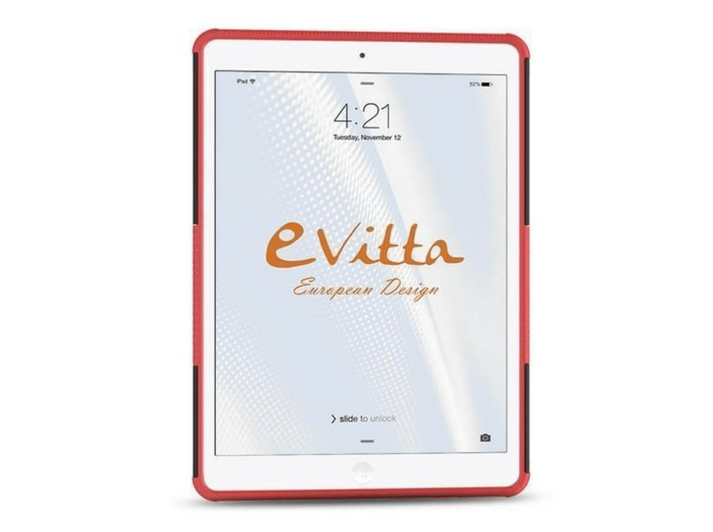 Funda - Evitta Rugged Cover New iPad 2017-2018 Rojo