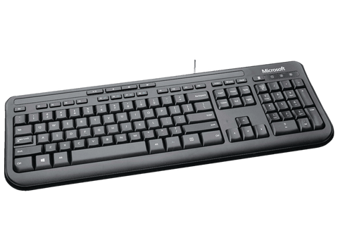 Teclado - Microsoft Wired Keyboard 600