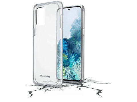Funda - Cellularline CL Clear Duo Galaxy A21s, Transparente