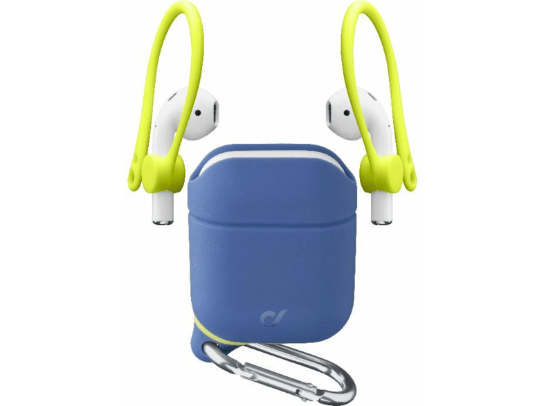 Funda Airpods - Cellular Line DYNAMICAIRPODSB, Silicona, Azul