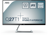 Monitor gaming -  AOC Style-line Q27T1, 27, 2560 x 1440, HD LED, Plana, Plata