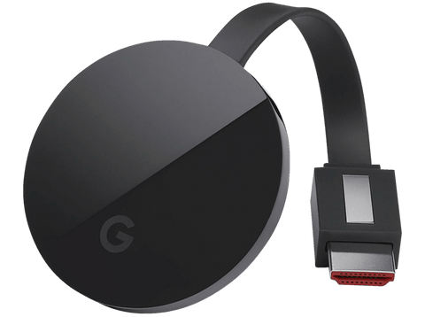 Reproductor Multimedia - Google Chromecast Ultra, Ethernet, 4K Ultra HD, WiFi