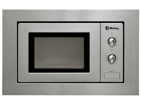 Microondas integrable - Balay 3WMX1918X, 17 L, 60 cm de Ancho, Inox