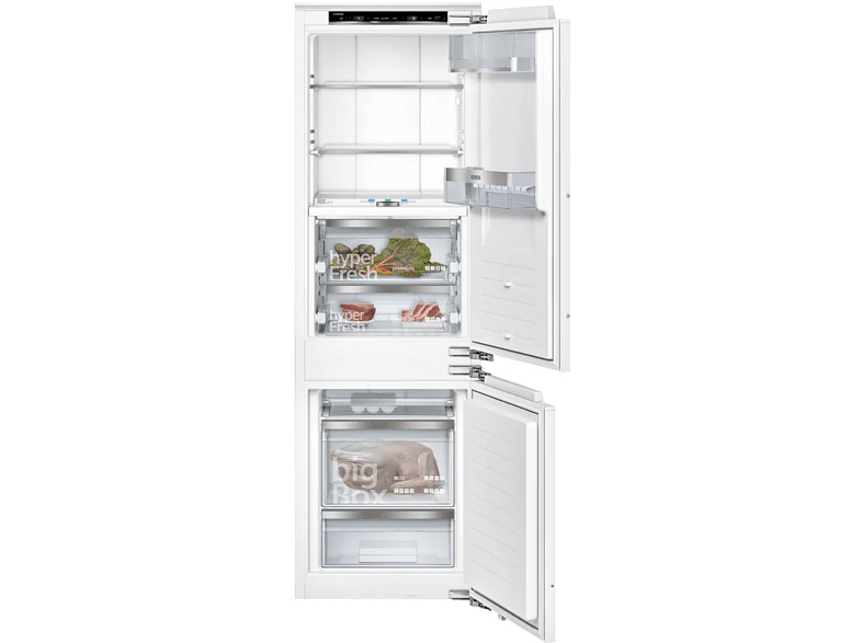 Frigorífico combi - Siemens iQ700 KI86FPDD0, Independiente, 37 dB, No Frost, 223 l, A+++, Blanco