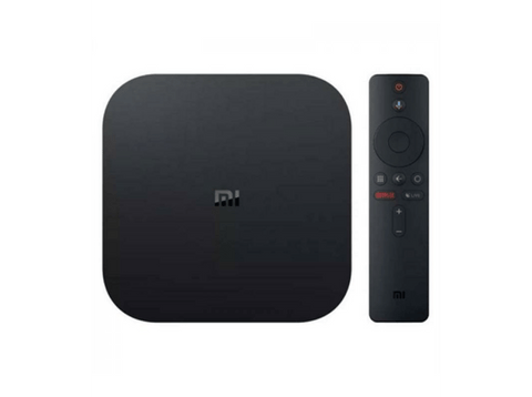 Reproductor de multimedia Smart TV - Xiaomi Mi Box, 4K QC, 8GBeMMC, Wifi HDMI, BT USB, Negro
