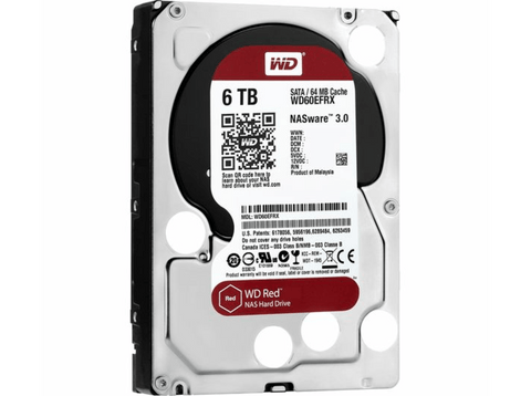 Disco duro - Western Digital Red WDBMMA0060HNC, NAS, 6 TB, Sata 3, 64 MB