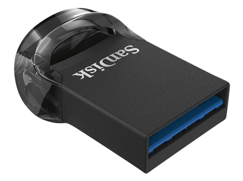 Pendrive 128 GB - Sandisk Cruzer Ultra Fit, USB 3.1, hasta 130 MB/s