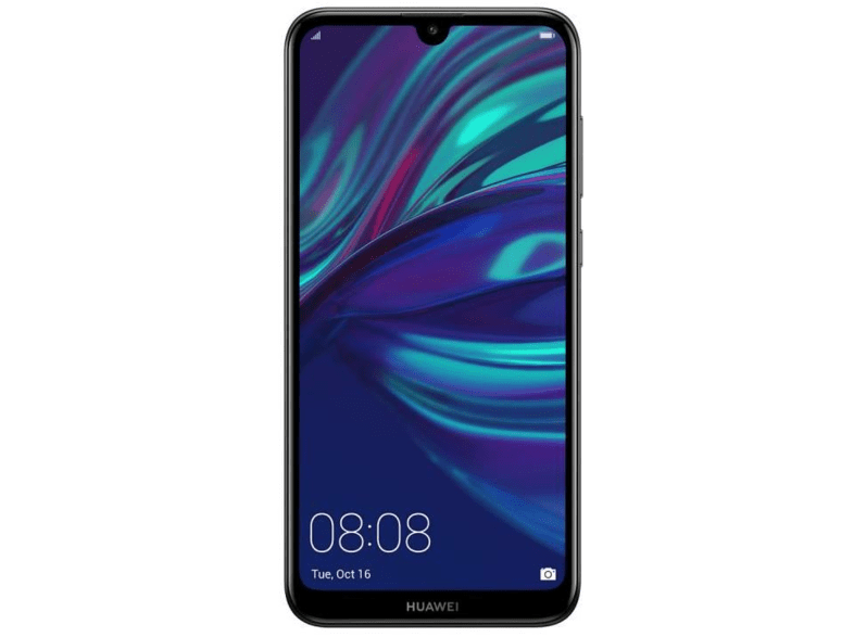 Móvil - Huawei Y7 (2019), Negro, 32 GB, 3 GB RAM, 6.26 Full HD+, Snapdragon 450, 4000 mAh, Android