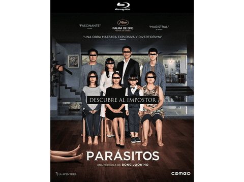 Parásitos - Blu-ray