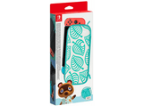 Funda - Nintendo (Ed. Animal Crossing: New Horizons), Para Nintendo Switch, Protector de pantalla, Verde