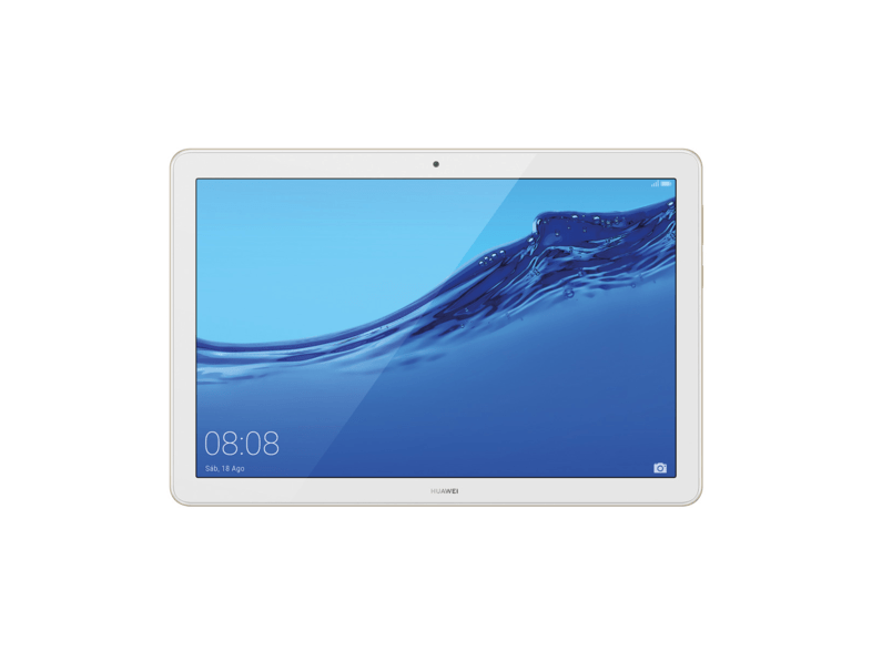 Tablet - Huawei MediaPad T5, 32 GB, Oro, WiFi, 10.1 Full-HD, 3 GB RAM, Kirin 659, Android