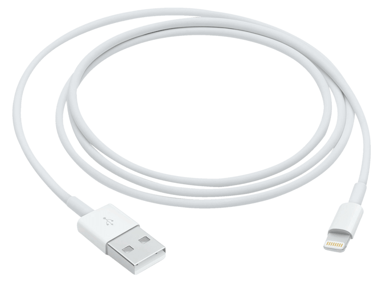 Cable Lightning a USB - Apple MD819ZM/A, USB 2.0, 2 m
