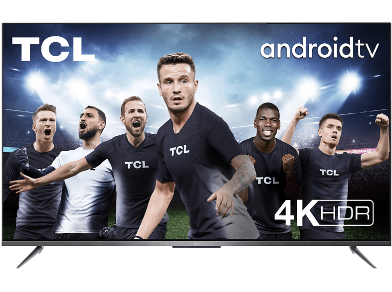 TV LED 65 - TCL 65P715, Android TV, 4K, UHD, Dolby Audio, Google Assistant Incorporado, Compatible con Alexa
