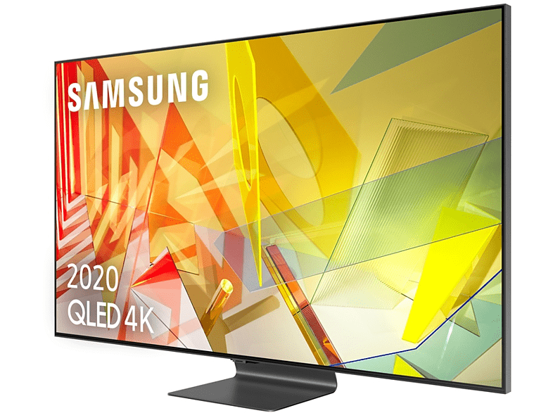 Samsung QLED 4K 2020 55Q95T, Smart TV 55, Direct Full Array HDR 2000, IA 4K UHD, Asistentes de voz Integrados