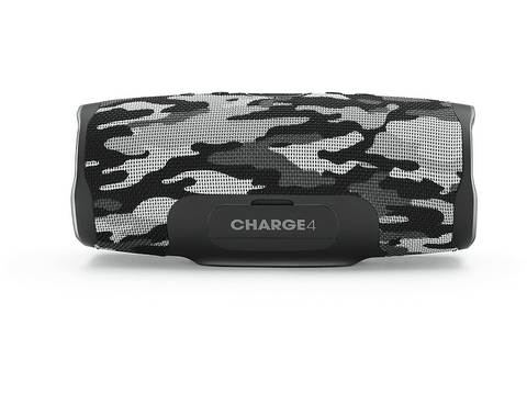 Altavoz inalámbrico - JBL Charge 4, 30 W, IPX7, Bluetooth, JBL Connect+, Black Camo