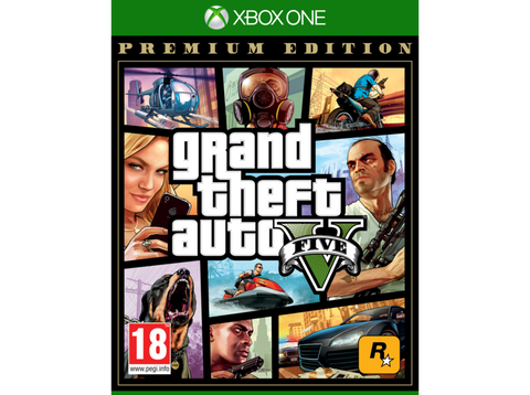 Xbox One Grand Theft Auto V (GTA V) (Premium Edition)