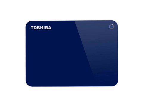 Disco duro 4 TB -  Toshiba Canvio Advance, 4TB, USB, Azul