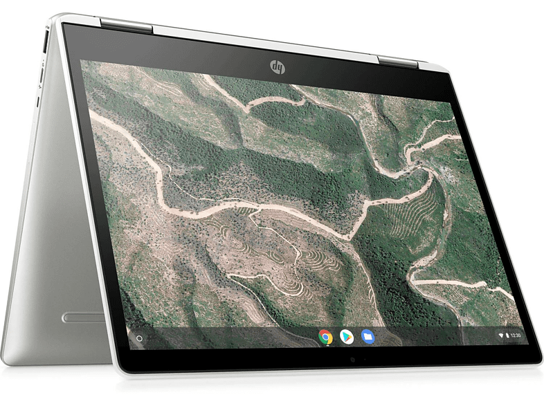 Convertible 2 en 1 - HP Chromebook x360 14b-ca0000ns, 14 FHD, Intel® Celeron® N4000, 4GB, 64GB, ChromeOS