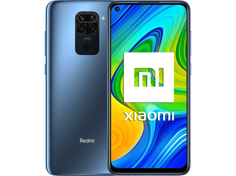 Móvil - Xiaomi Redmi Note 9, Gris, 128 GB, 4 GB, 6.53