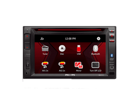 Autorradio - Philips CED1500BT, 6.2