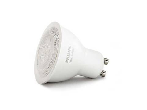 Bombilla LED -  PHILIPS, HUE WHITE DICROICA, 5.5 W, GU10, 2700 K