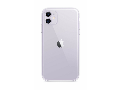 Funda - Apple Clear Case, Para el iPhone 11, Silicona, Transparente