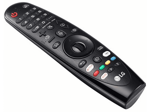 Mando a distancia - LG Magic Control AN-MR19BA, Reconocimiento de Voz, Rueda Scroll, Negro