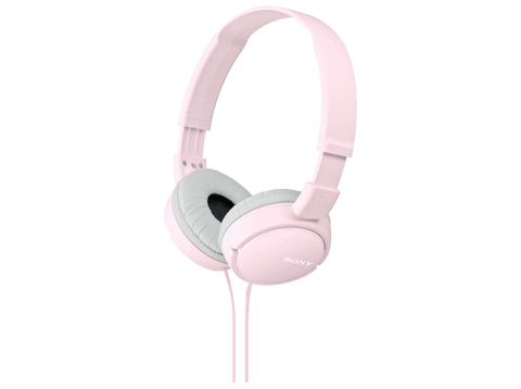 Auriculares con cable - Sony MDR-ZX110 Rosa, Supra-aural