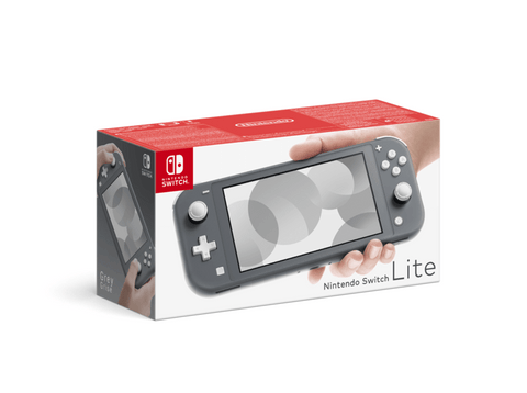 Consola - Nintendo Switch Lite, Portátil, Controles integrados, Gris