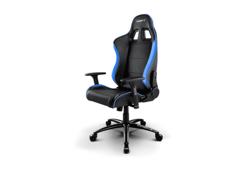 Silla gaming - Dirft DDR200, altura regulable, Azul y Negro