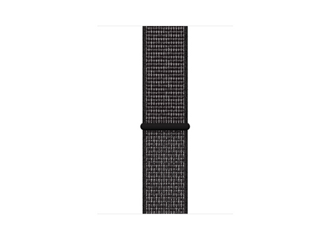 Correa - Apple Watch Nike Sport Loop, Nailon, 44 mm, Regular, Negro