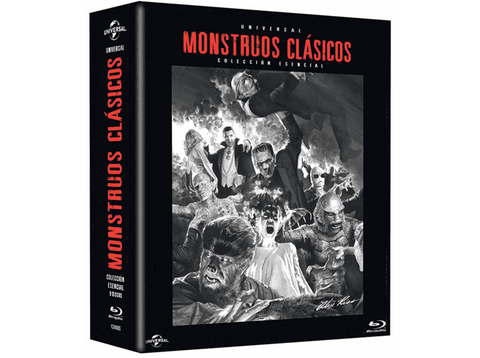 Pack Monstruos Clásicos - Blu-ray