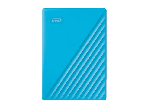 Disco duro externo 4 TB - WD My Passport WDBPKJ0040BBL, Para Windows, USB 3.2, WD Discovery, Azul
