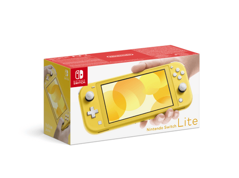 Consola - Nintendo Switch Lite, Portátil, Controles integrados, Amarillo