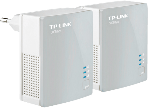 Adaptador PLC - TpLink AV600 Kit Nano Powerline, 500Mbps