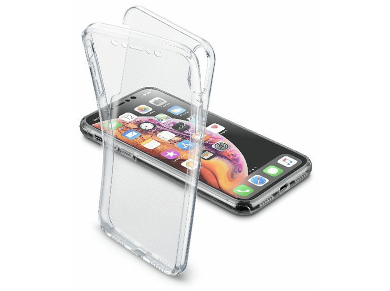 Funda - Cellular Line CLEARDUOIPHXR2T, Para smartphone Apple iPhone 11, Rígida