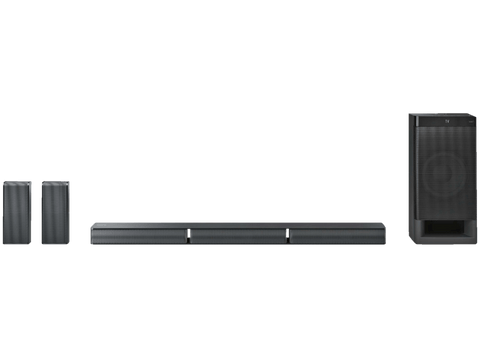 Barra de sonido - Sony HT-RT3, Subwoofer, 5.1 canales, Bluetooth, NFC, HDMI, USB, Negro