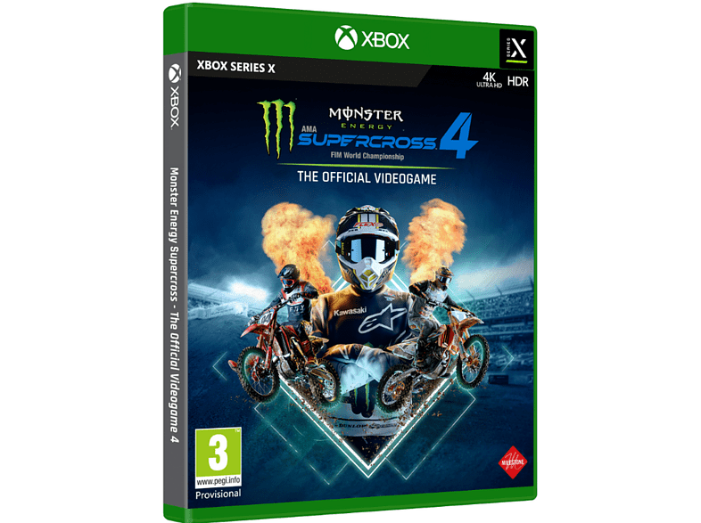 Xbox One & Xbox Series X Monster Energy Supercross: The Official Videogame 4