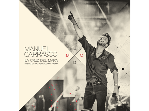 Manuel Carrasco - La cruz del mapa, Directo Estadio Metropolitano Madrid (3 CDs) - CD + DVD